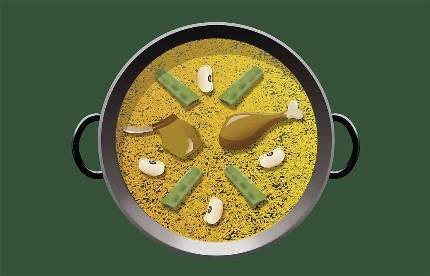 Emoji paella valenciana