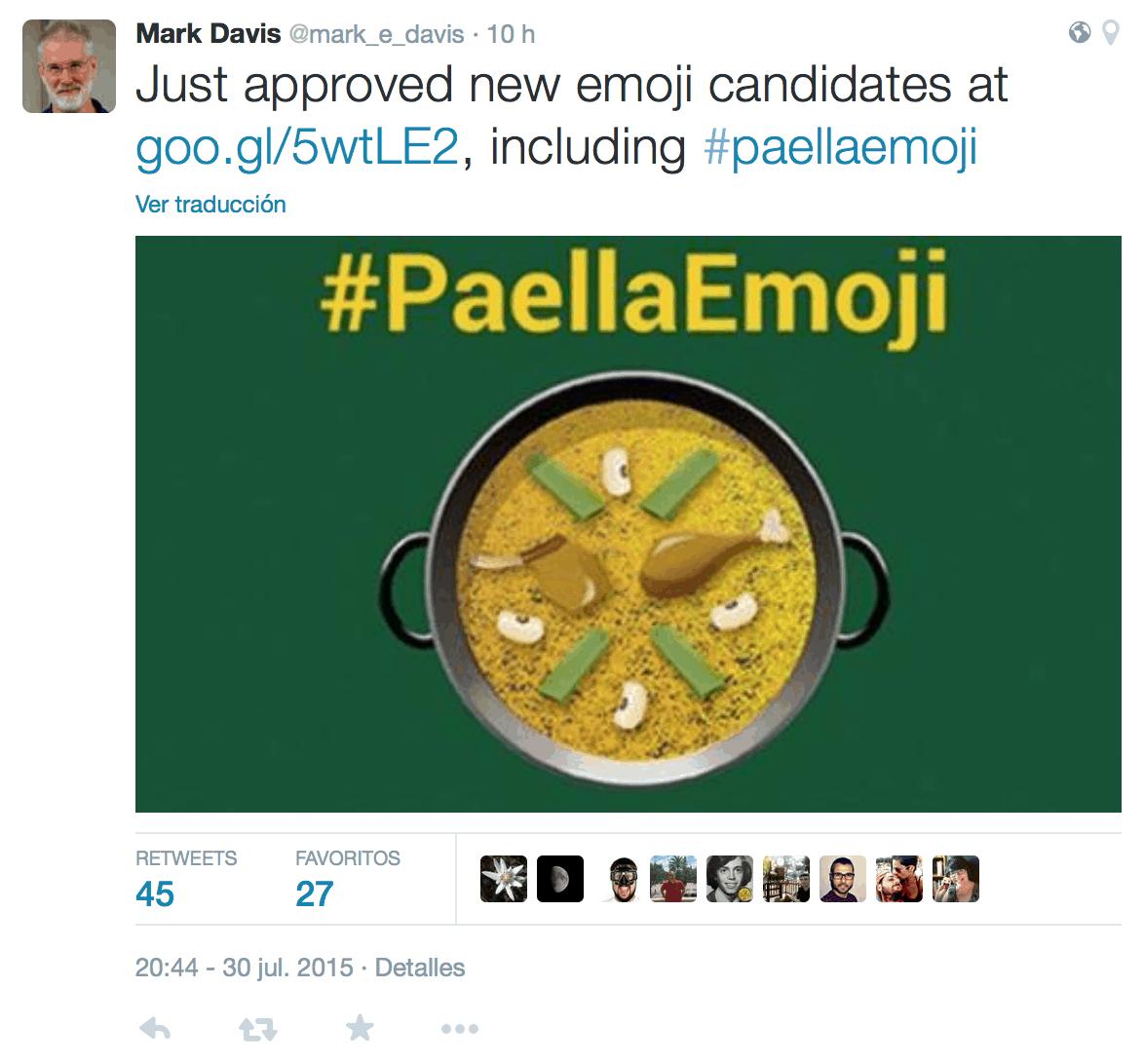 paella valenciana candidata emoji